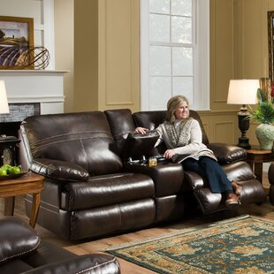 Obryan Double Motion Console Reclining Loveseat