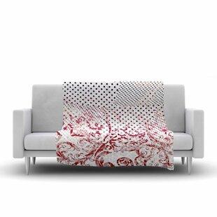 Purchase Victoria Krupp Mixing Dots Digital Fleece Blanket ByEast Urban Home