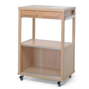 Benchef Kitchen Trolley With Manufactured Wood Top By Foppapedretti