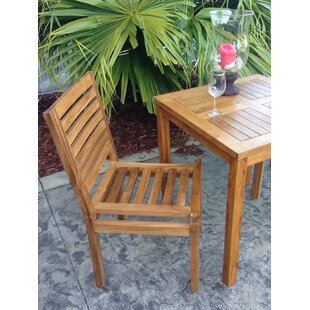 Kasandra Teak Patio Dining Chair