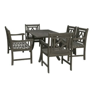 Densmore 6 Piece Patio Dining Set