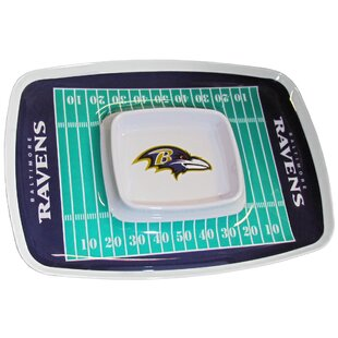 NFL Chip And Dip Platter by Siskiyou Products Discount