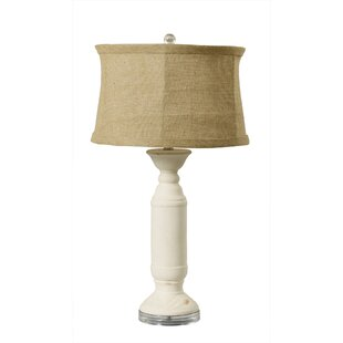 Erler Weathered Candlestick 28 Table Lamp