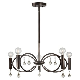 Mercer41 Belvedere 5-Light Sputnik Chandelier
