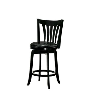 Healy Wooden 24 Bar Stool by Alcott Hill Savings