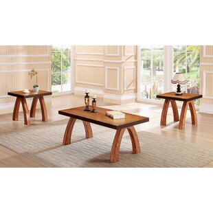 Salas 3 Piece Coffee Table Set