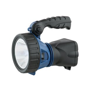 Pippen Blue Battery Powered LED Outdoor Flashlight Image
