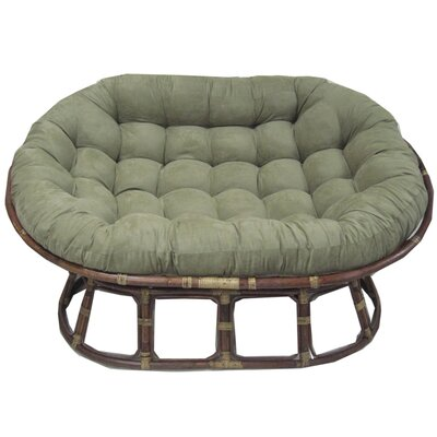 Oversize Double Papasan Chair Cushion  sc 1 st  Wayfair.ca : chaise papasan - Sectionals, Sofas & Couches