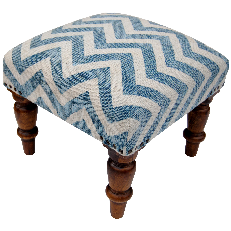 Herat oriental handmade upholstered stool wayfair
