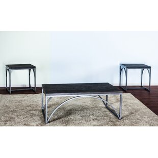 Ebern Designs Coomes 3 Piece Occasional Coffee Table Set