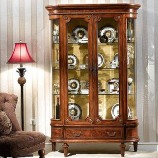 Astoria Grand Pritchett Two Door Display Unit China Cabinet