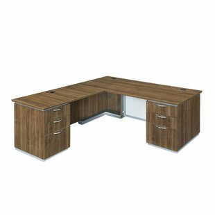 Pimlico L-Shape Executive Desk by Flexsteel Contract Sale