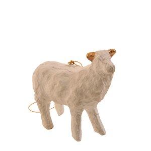 Paper Machu00e9 Sheep Ornament