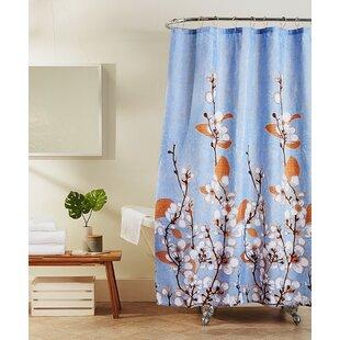 Affordable Pastore Jasmine Shower Curtain ByBloomsbury Market
