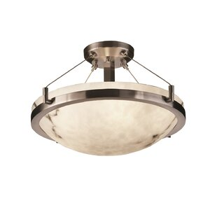 Keyon 3-Light Semi Flush Mount..
