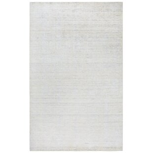 Find for Hadley Hand-Woven White Area Rug ByGracie Oaks