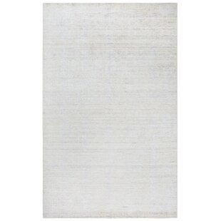 Affordable Hadley Hand-Woven White Area Rug ByGracie Oaks