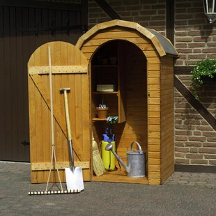 Perugia 3.6 Ft. W X 2.7 Ft. D Wooden Tool Shed By WFX Utility