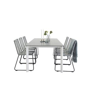 Cheap Price Donelson Extendable Dining Set With 6 Chairs