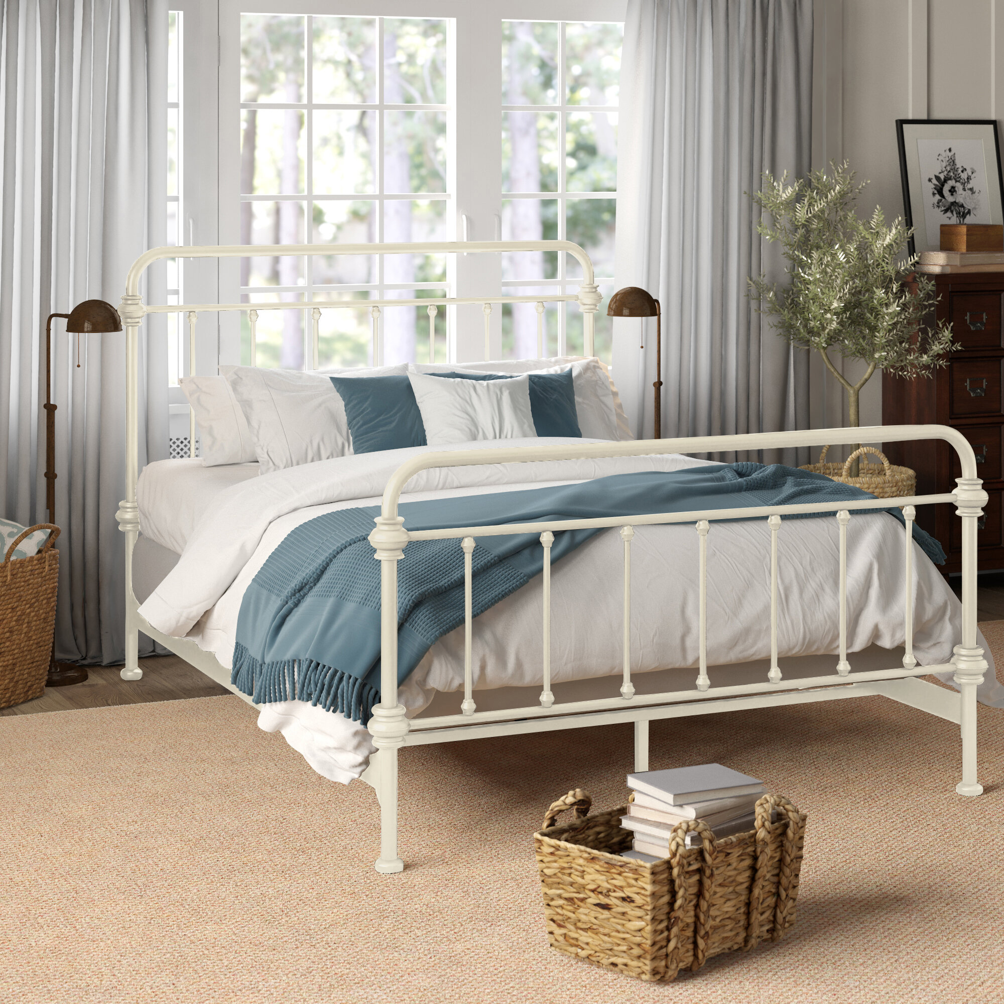 Picture of: French Country King Size Beds You Ll Love In 2020 Wayfair