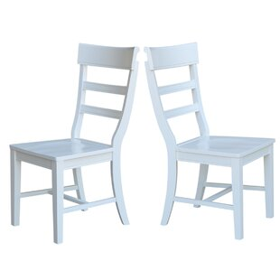 Breakwater Bay Salsbury Solid Wood Dining Chair (Set of 2)