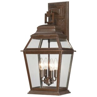 Crossroads Point 4-Light Outdoor Wall Lantern