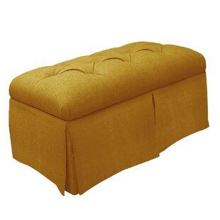 Skyline Furniture Tufted Fabric Storage B..