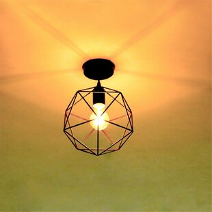 1-Light Semi Flush Mount by Unitary