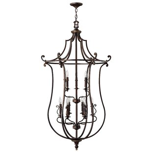 Alcott Hill Kenny 9-Light Lantern Pendant