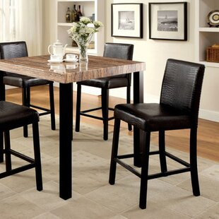 World Menagerie Crisfield Contemporary Counter Height Dining Table