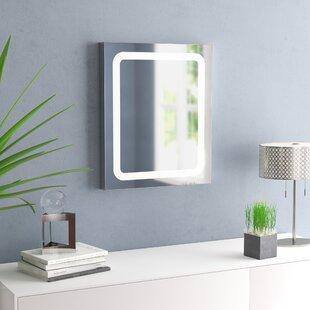 Price comparison Tussey LED Bathroom/Vanity Mirror ByWade Logan