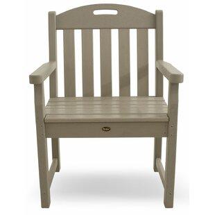Trex Outdoor Yacht Club Garden Arm Chair
