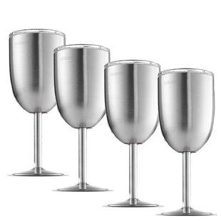 Stainless Steel Wine Glass Wayfair