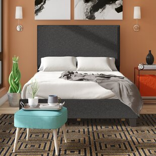 Biseye Upholstered Panel Bed
