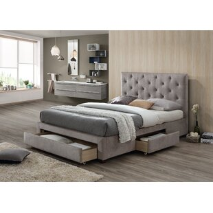 Review Kingsview Upholstered Storage Bed