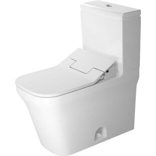 Duravit P3 Comforts Elongated Two-Piece Toilet (Seat Not Included)