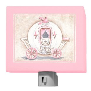 Oopsy Daisy Little Princess Carriage Night Light