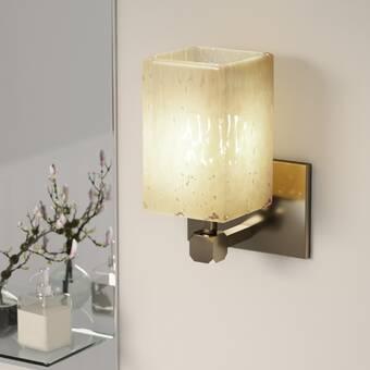 Wrought Studio Mannox Cut Cone 1 Light Wall Sconce Wayfair
