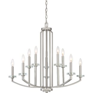 Charlton Home Enders 10-Light Chandelier