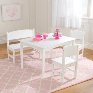 3b5cd8f96f153 Nantucket Kids 4 Piece Table and Chair Set