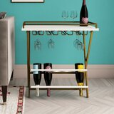 Trevia Folding 5 Bottle Floor Wine Rack by CosmoLiving by Cosmopolitan