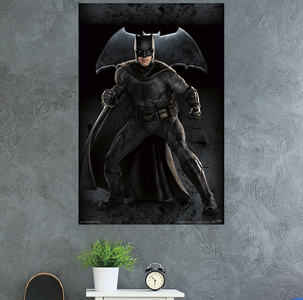 Trends International Justice League Batman Paper Print Wayfair