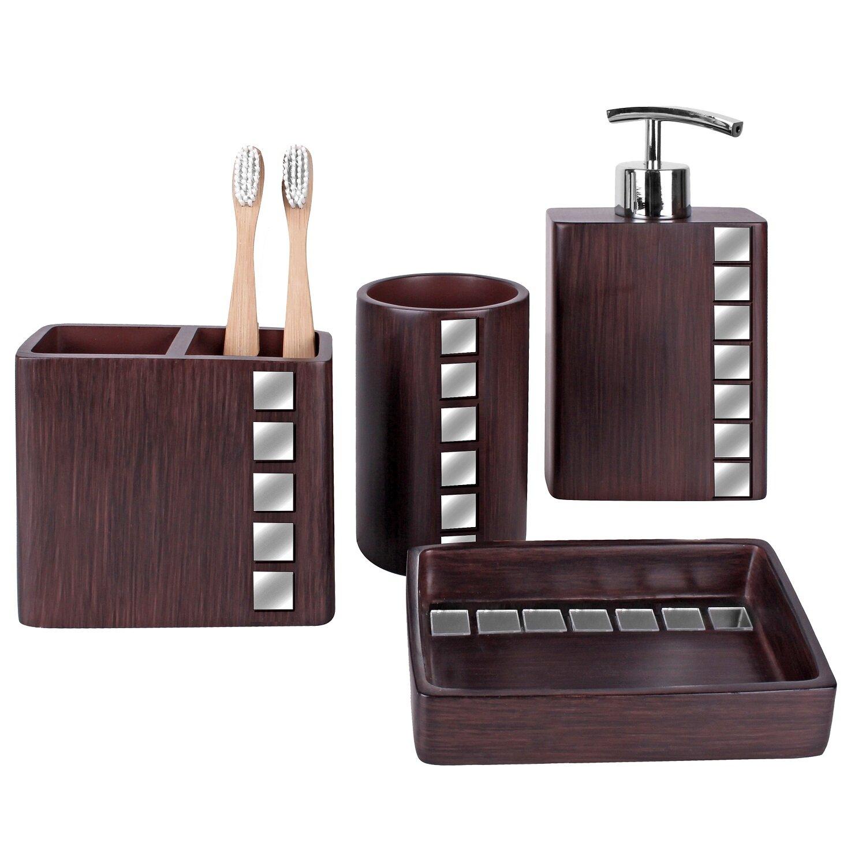 Wrought Studio Talavera 4 Piece Bathroom Accessory Set Reviews Wayfair