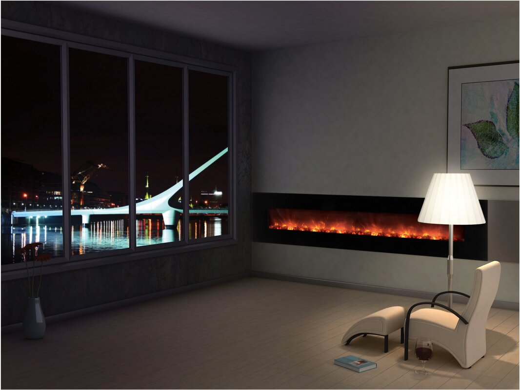 Modern Flames CLX Series Ambiance Custom Linear Delux Wall Mount ...