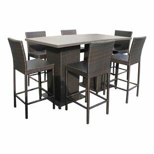 Camak 8 Piece Pub Table Set
