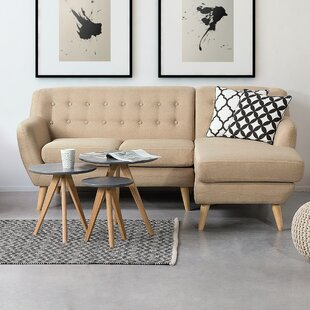 Home Loft Concepts Motala Sofa and Chaise
