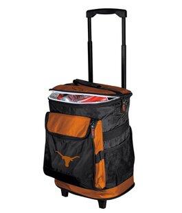 24 Can Collegiate Rolling Cooler - Texas