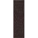 Ariadne Saddle Stitch Handwoven Black Cocoa Indoor/Outdoor Area Rug