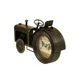 Vintage Tractor Tabletop Clock