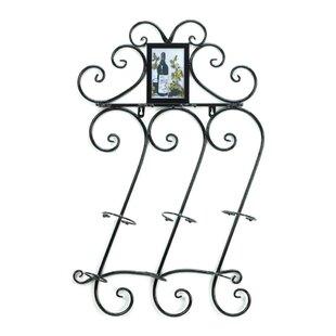 Zingz & Thingz Flourish 3 Bottle Wall Mounted Wine Rack